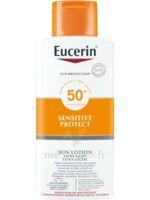 Eucerin Sun Sensitive Protect Spf50+ Lotion Corps Fl/400ml à CHAMPAGNOLE