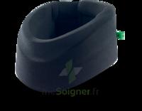 Cervix 2 Collier cervical semi-rigide noir/vert H7,5cm T1 à CHAMPAGNOLE