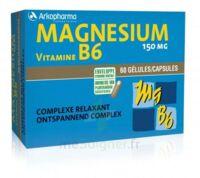 Arkovital Magnésium Vitamine B6 Gélules B/120 à CHAMPAGNOLE