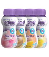 Fortimel Protein Nutriment multi saveurs caramel/vanille/fraise/mangue 4 Bouteilles/200ml à CHAMPAGNOLE