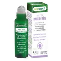Olioseptil Huile Essentielle Maux De Tête Roll-on/5ml à CHAMPAGNOLE