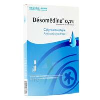 Desomedine 0,1 % Collyre Sol 10fl/0,6ml à CHAMPAGNOLE