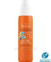 Avène Eau Thermale Solaire Spray Enfant 50+ 200ml à CHAMPAGNOLE