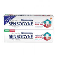 Sensodyne Sensibilité Et Gencives Menthe Fraîche 2t/75ml à CHAMPAGNOLE