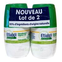 Etiaxil Végétal Déodorant 24h 2roll-on/50ml à CHAMPAGNOLE