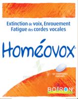 Boiron Homéovox Comprimés à CHAMPAGNOLE