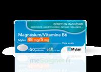 Magnesium/vitamine B6 Mylan 48 Mg/5 Mg, Comprimé Pelliculé à CHAMPAGNOLE