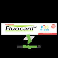 Fluocaril Kids Dentifrice Fraise 0-6 Ans T/50ml à CHAMPAGNOLE
