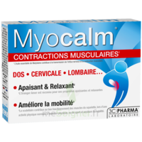 MYOCALM Comprimés contractions musculaires B/30 à CHAMPAGNOLE