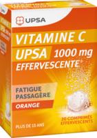 Vitamine C Upsa Effervescente 1000 Mg, Comprimé Effervescent à CHAMPAGNOLE